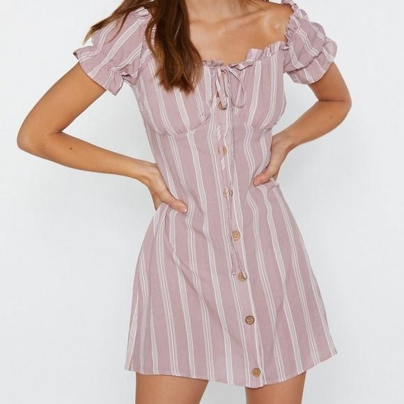 Nasty Gal Dresses & Skirts - Striped Mini Dress